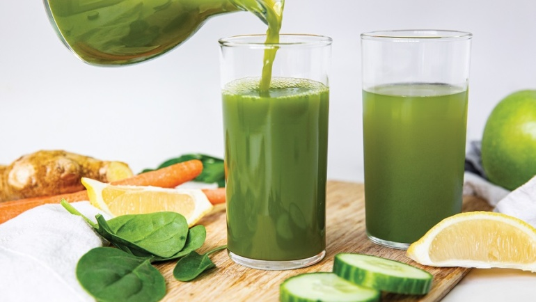Healthy Green Juice Recipe Packed With Antioxidants